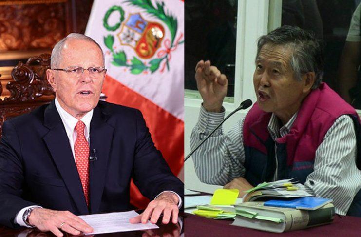 Pedro Pablo Kuczynski - Alberto Fujimori - Ideeleradio - Foto: Presidencia - Poder Judicial