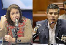 Lourdes Flores - Luis Galarreta - Ideeleradio - Foto: Congreso
