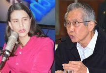 Verónika Mendoza - Alberto Fujimori - Ideeleradio - Foto: Poder Judicial