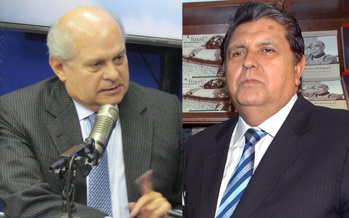 Pedro Cateriano - Alan García - Ideeleradio - Foto: Congreso