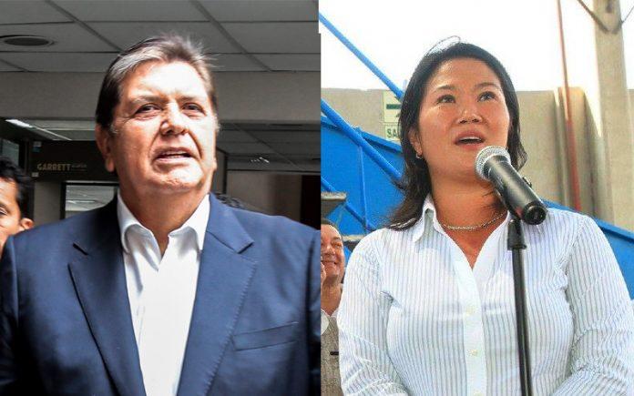 Alan García Keiko Fujimori - Foto: Congreso - Facebook